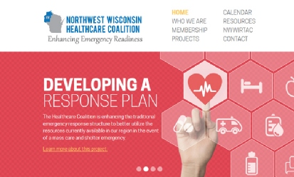 Northwest WI Healthcare Coalition screenshot