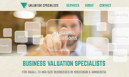 Valuation Specialists screenshot