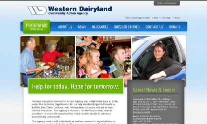 Western Dairyland Community Action Agency screenshot