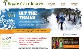 Beaver Creek Reserve Website