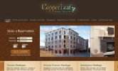 Copperleaf Hotel Website