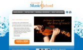 Eau Claire Music School Website